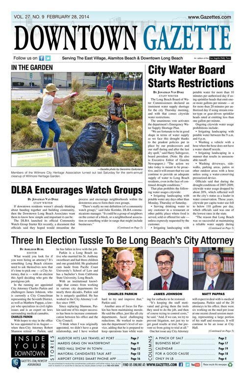Downtown Gazette  |  February 28, 2014