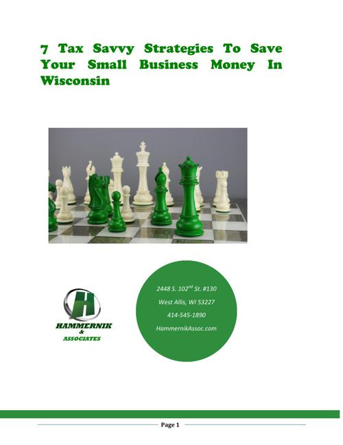 7 Tax Savvy Strategies To Save Your Small Business Money