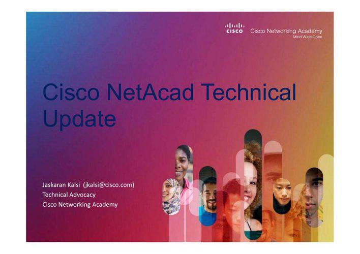 NetAcad Technical Update