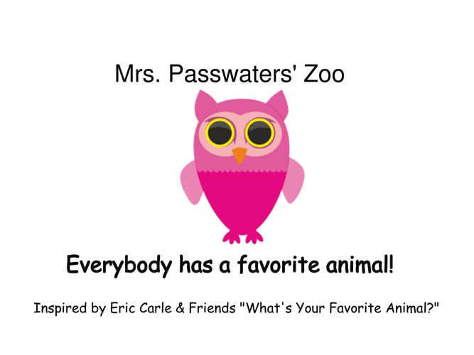 PasswatersZoo
