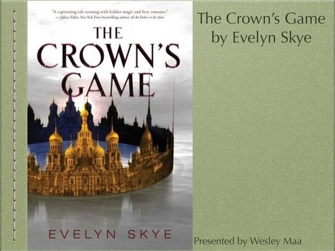 The Crown's Game Book Talk