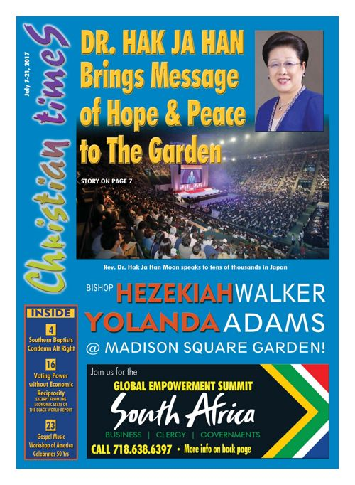 Christian Times - Special Peace & Hope Edition