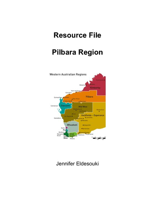 Resources for Pilbara Region