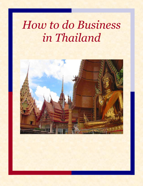 Business meetings in Thailand