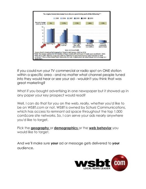 WSBT Digital Marketing Group } s o l u t i o n s