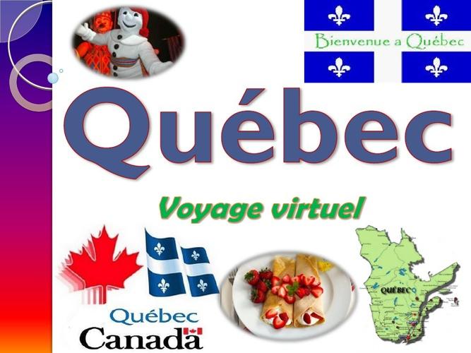 Québec - voyage virtuel