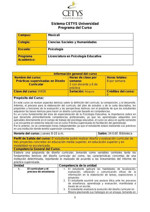Programaciondecurso2015-2PrácticasSupervisadasenDiseñoCurricular