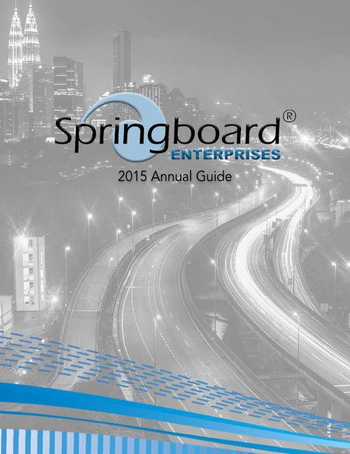Springboard 2015 Annual Guide