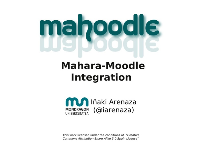 Moodle-Mahara