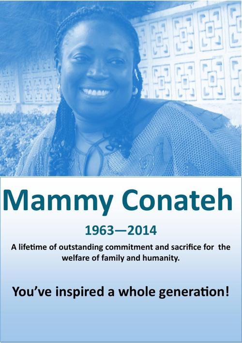 A Tribute to Mammy Conateh by Balla Musa Joof