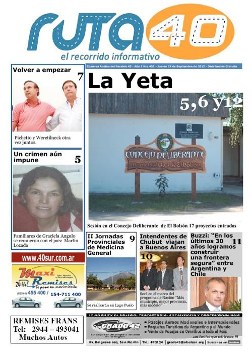 Diario Jueves 27 de Septiembre