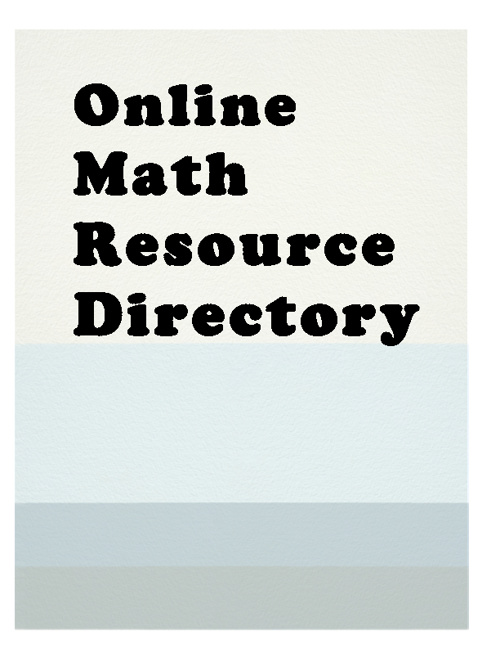 Copy of Math Resources