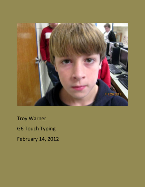 G6 Touch Typing