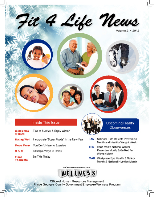 Prince George's County Newsletter December 2011