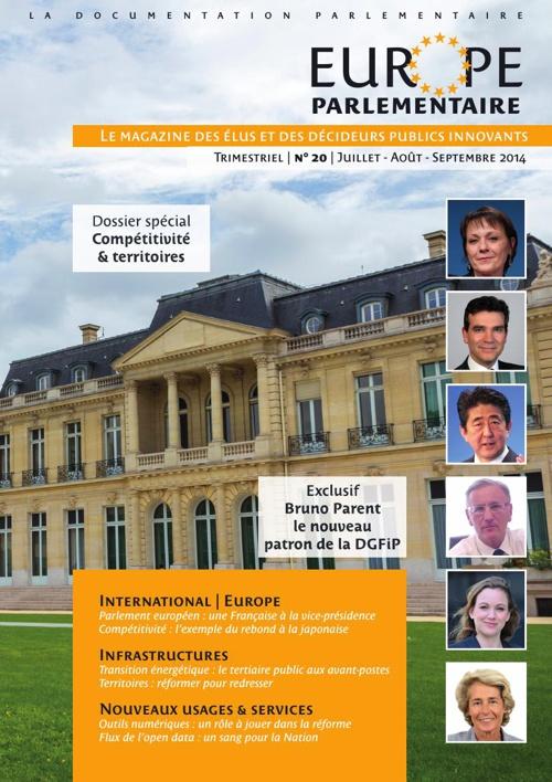 Europe Parlementaire n°20 Juillet-Août-Septembre 2014