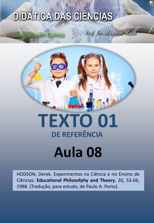 2015-DIDCIENC-AULA 08- TEXTO DE REFERENCIA