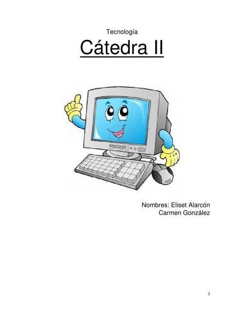 Cátedra II