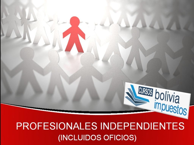 2 profesionales independientes cursos bolivia impuestos