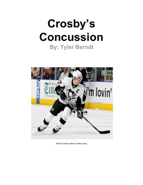 Crosby's Concussion