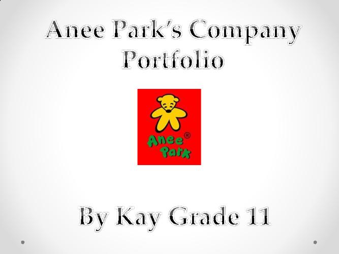 Entrepreneurship Company Portfolio