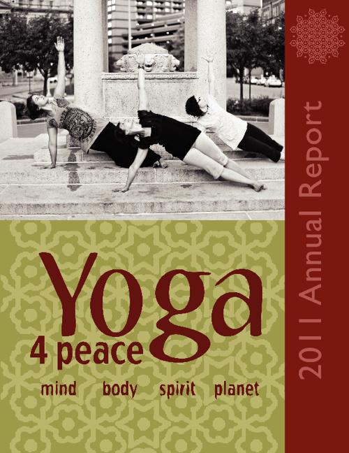 Yoga 4 Peace 2011 Annual Report