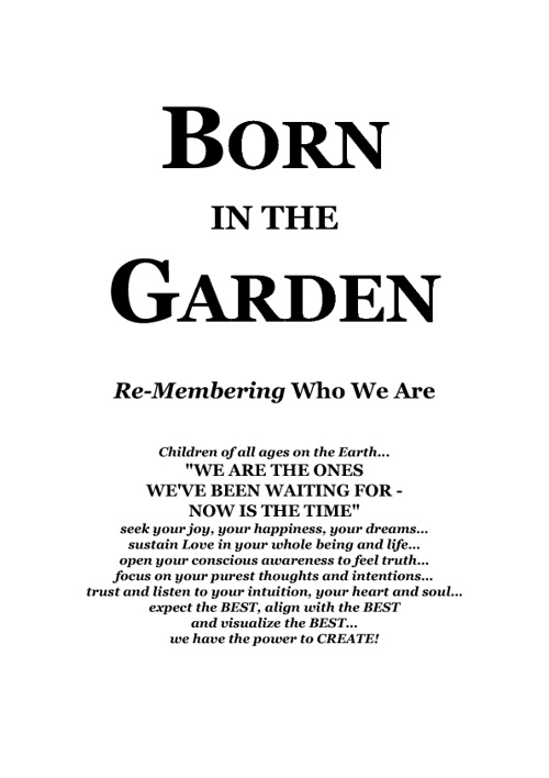 Born in the Garden