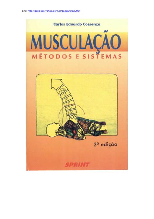 MUSCULAÇÃO - Métodos e Sistemas