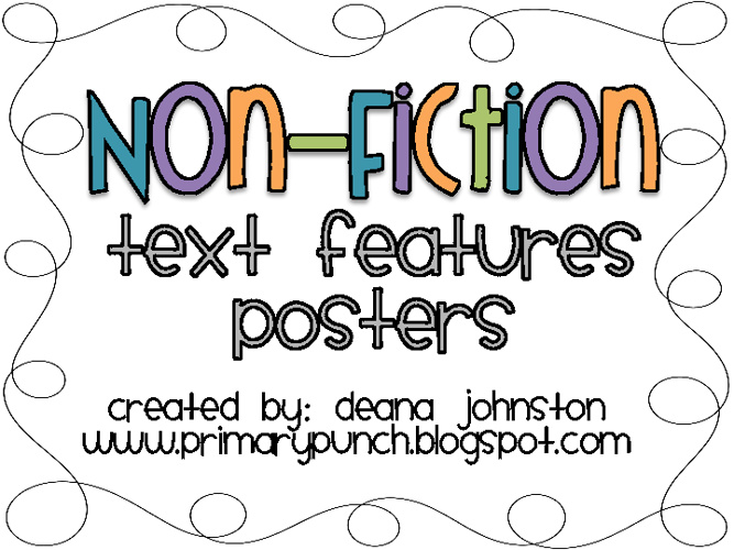 Copy of Non-fiction Text Features