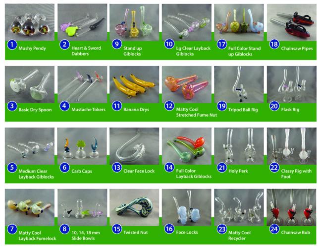 Gibson Glassworks - Wholesale Catalog