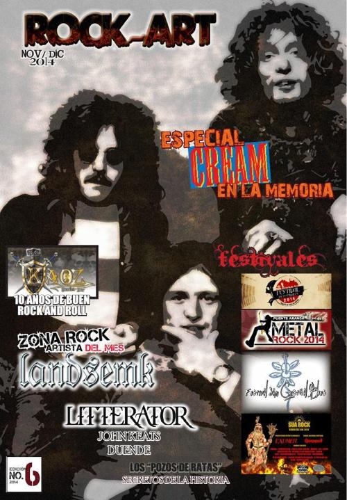 ROCK-ART revista rock / SEXTA EDICIÓN