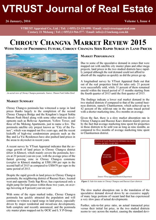 Chrouy Changva Market Review - Vtrust Appraisal - English