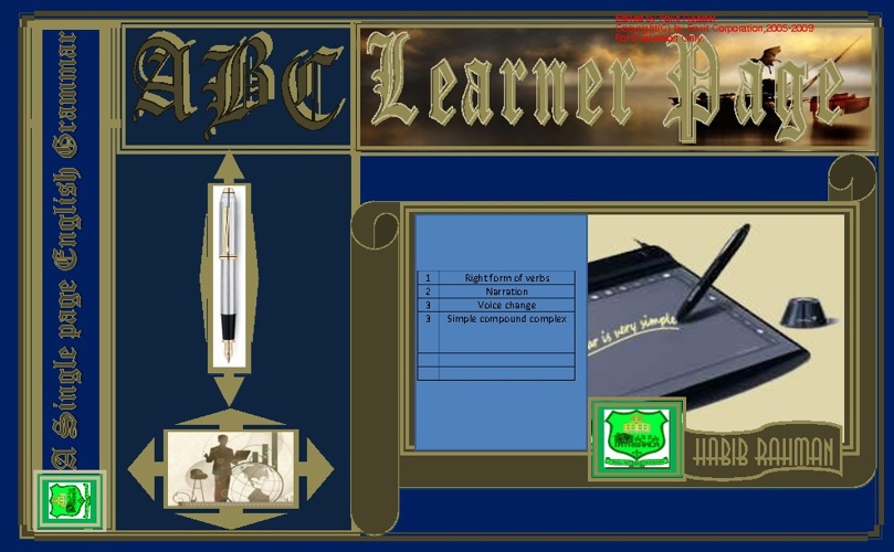 A B C Learner Page