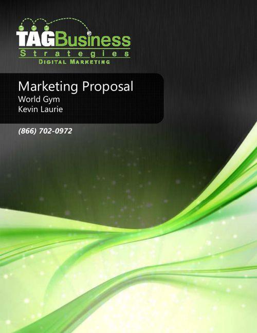 World Gym Marketing Proposal_20150617
