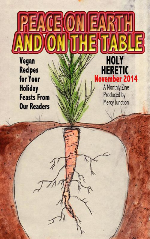 Holy Heretic: PEACE ON EARTH AND ON THE TABLE November 2014