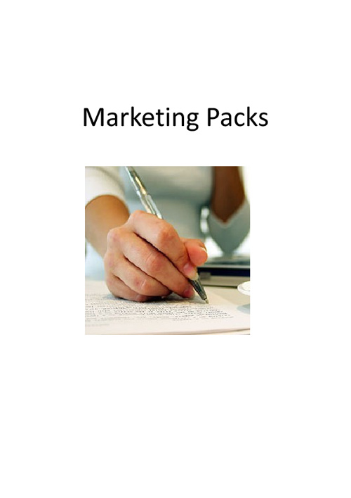 Marketing Packs