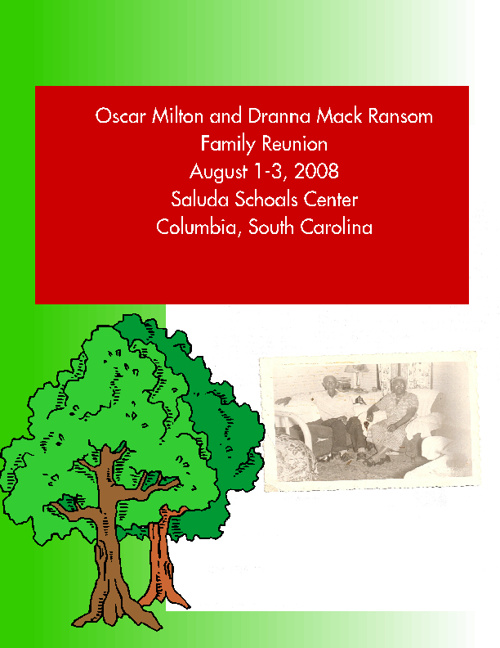 Oscar Milton and Dranna Mack Ransom Family Tree