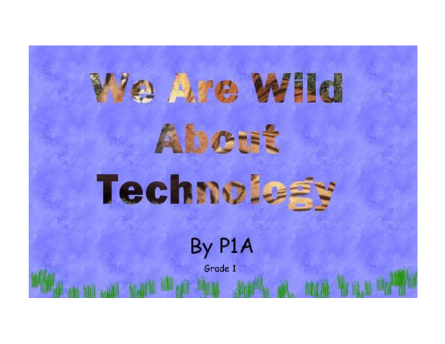 We are Wild about Technology