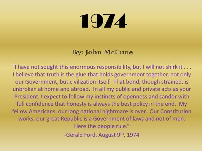 John McCune 1974