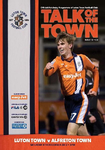 Town v Alfreton Issue 13