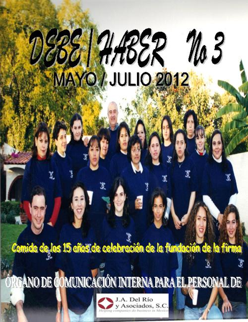 Debe - Haber 03 - Agosto, 2012
