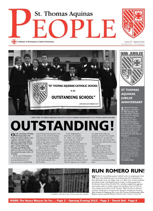 Aquinas People Issue 27
