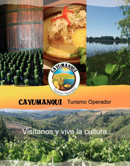 Brochure Cayumanqui Turismo