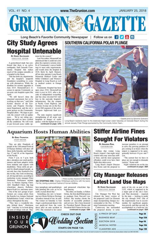 Grunion Gazette 1-25-18