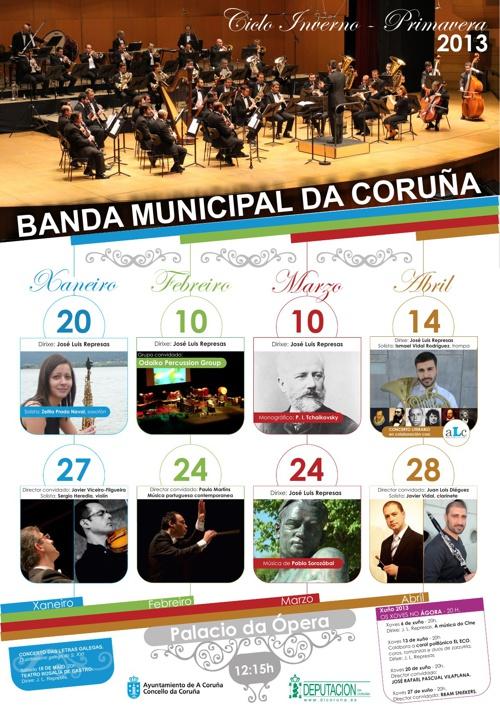 Programación de la Banda Municipal de Música