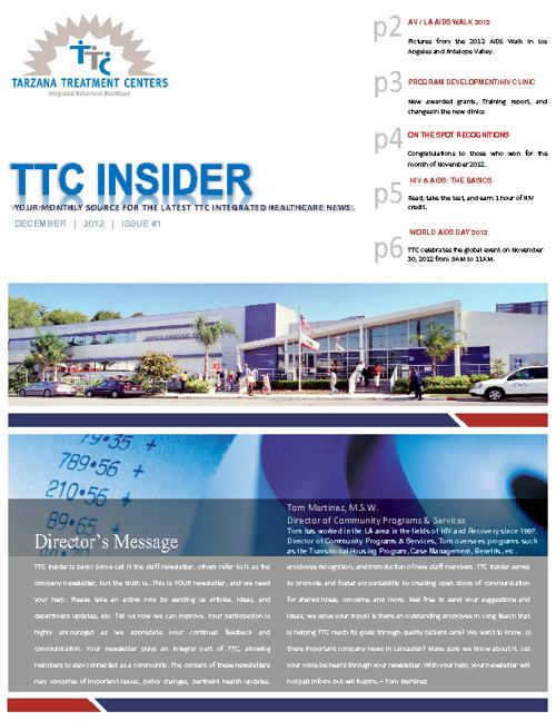 TTC Insider - December 2012