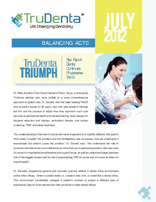 TruDenta Newsletter