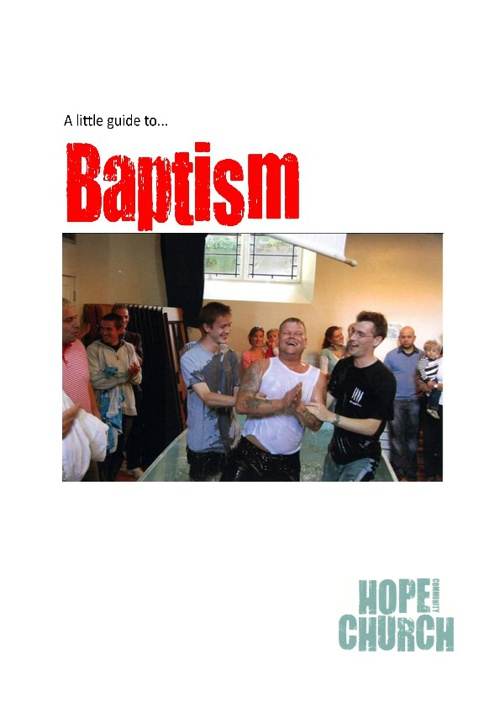 A Little Guide to Baptism
