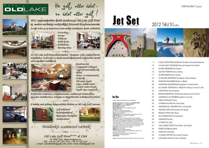 Jet Set Magazin - Tél (2012/4)