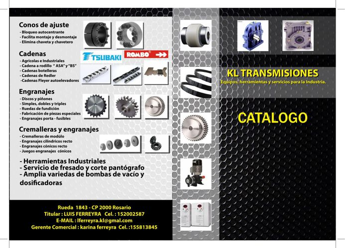Catalogo KL Transmisiones