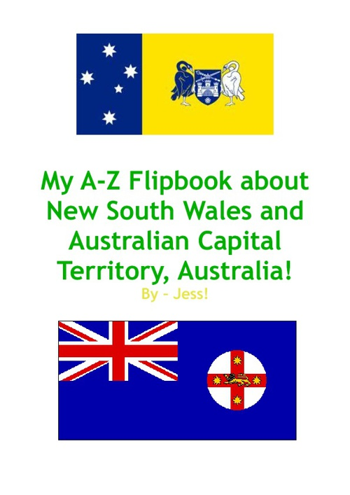 A-Z Flipbook on NSW/ACT!